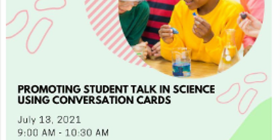 Promoting Student Talk in Science using Conversation Cards