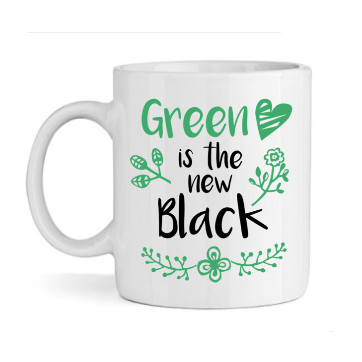 Mug green is the new black