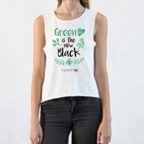 Green Is The New Black - Organic Women's Tee