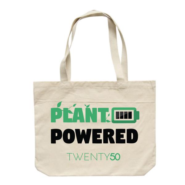 Shoulder bag  Neutral - Plant Powered