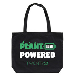 Shoulder bag Black - Plant powered