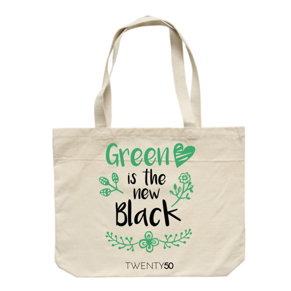 Shoulder bag  Neutral - Green is the new black