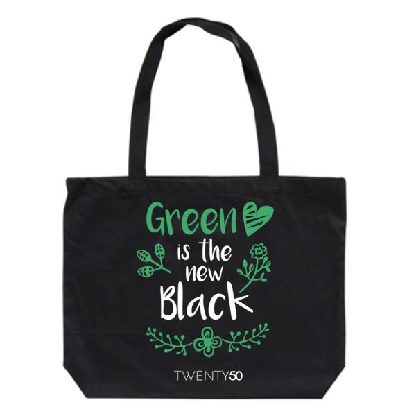 Shoulder bag Black - Green is the new black