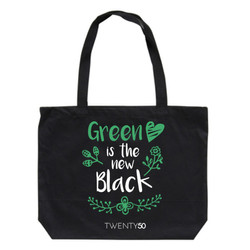 Shoulder bag Black - Green is the new black