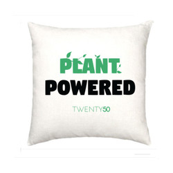 Plant powered - cushion
