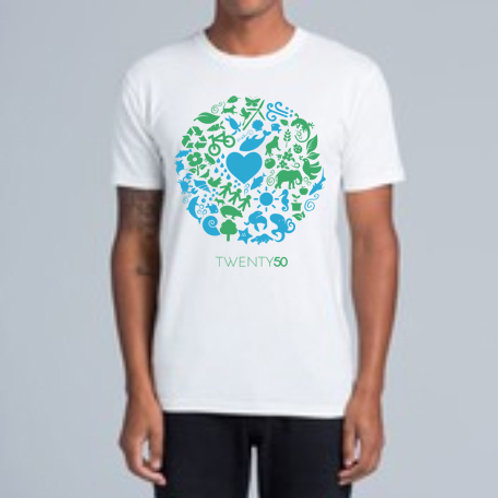 One World - Organic Men's Tee