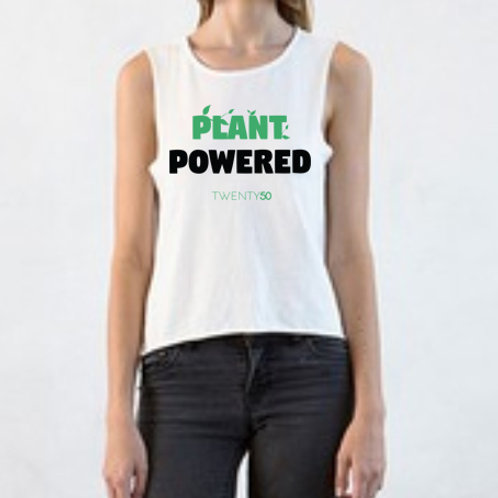 Plant Powered - Organic Women's Tee