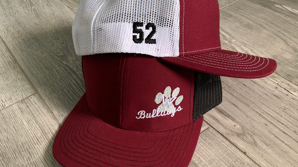New Waverly Embroidered Caps