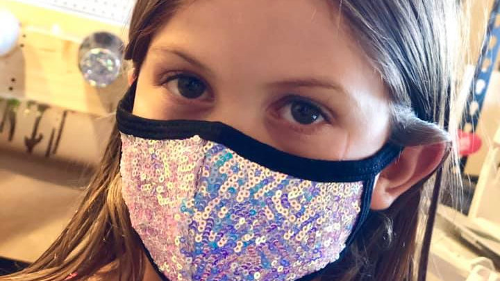 Youth Sequin Masks