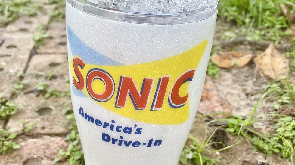Sonic Tumbler with ice lid
