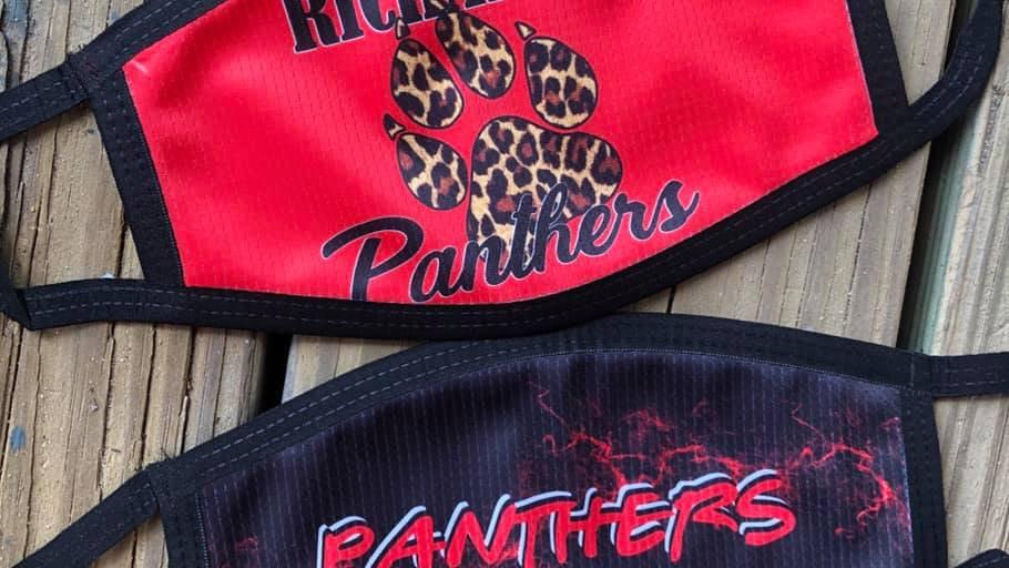 Panthers Custom Face Masks