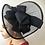 Thumbnail: Black fascinator Turban / African Head tie