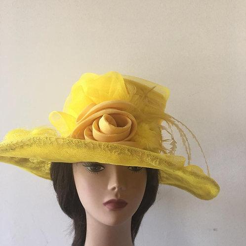 Kentucky yellow Lace Hats