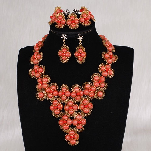 Dudo Nature Coral Necklaces Sets