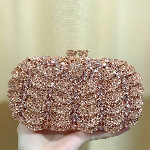 Gold Jeweled Clutch