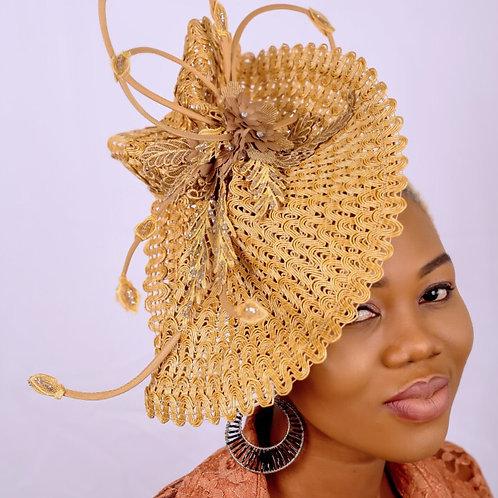 Kelly fascinator Hat