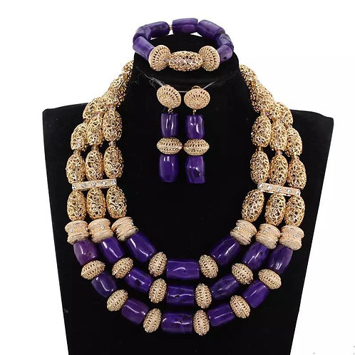 Kavita Handmade purple Necklaces