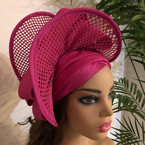 Double Bow  Turban