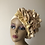 Thumbnail: Gold  fascinator Turban