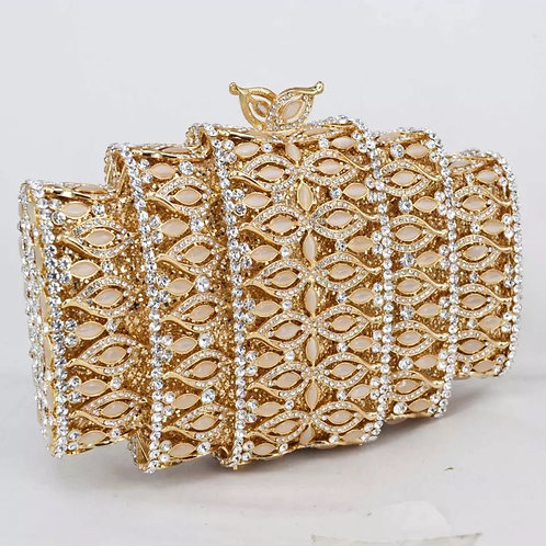 Queen Gold Clutch