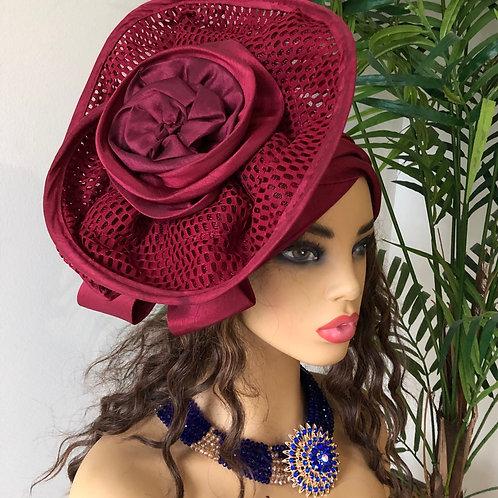 Vintage Fascinator Turban