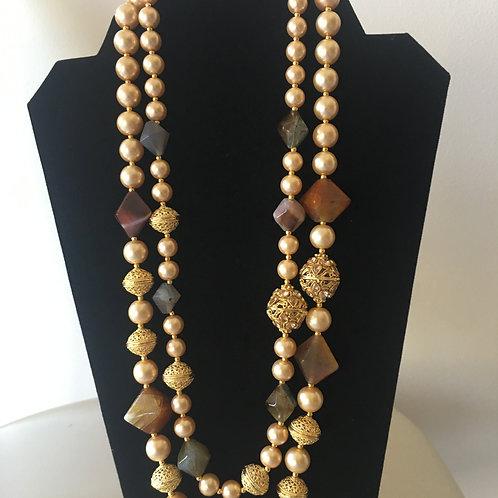 Kevita Beaded Necklace