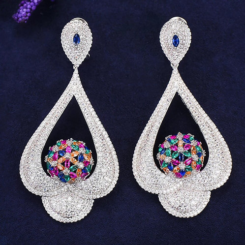 Colorful Jewel Earrings