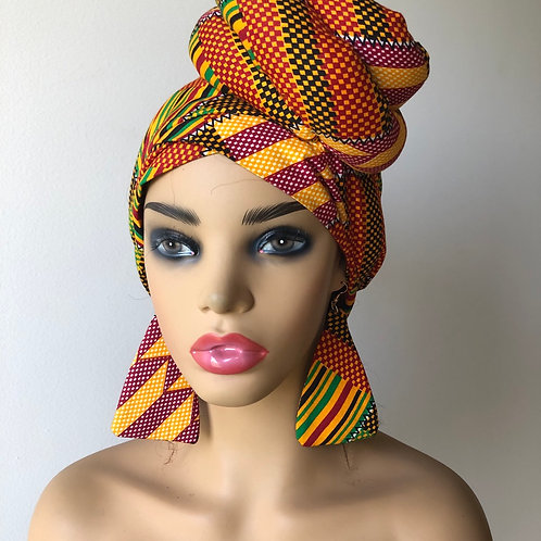 Kente African Prints Turban