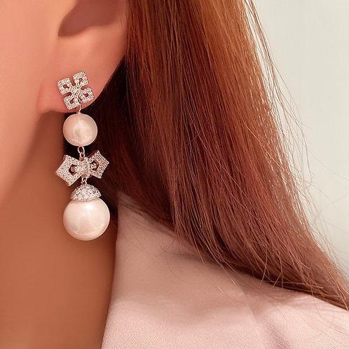 Keshi Real pearls Earrings