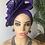 Thumbnail: Ada  purple Fascinator Turban