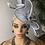 Thumbnail: Ugo Silver Fascinator Turban
