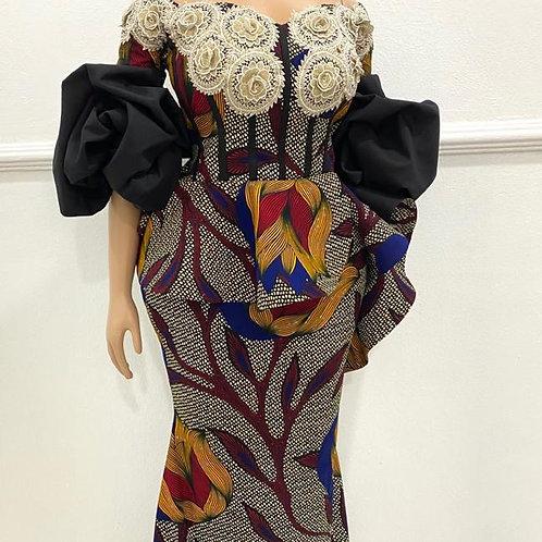 Chic Ankara Gown