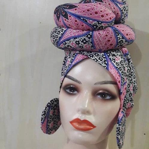 African / Headwrap set
