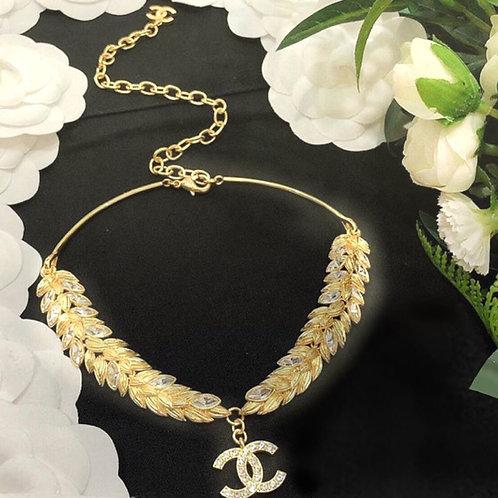 Double CC Necklaces Set