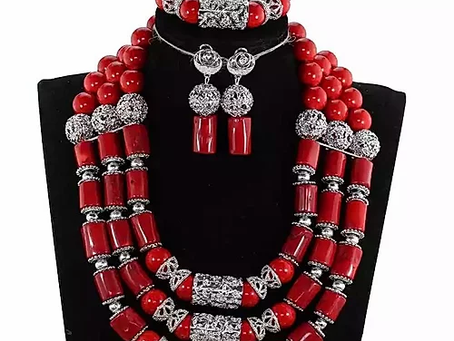 Real Coral Bead - Make An African Impression