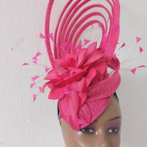 Pink Fascinator Hats