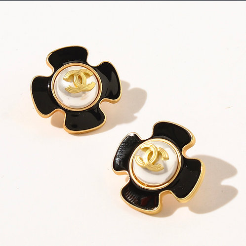 Vintage  Style Chanel  Earrings