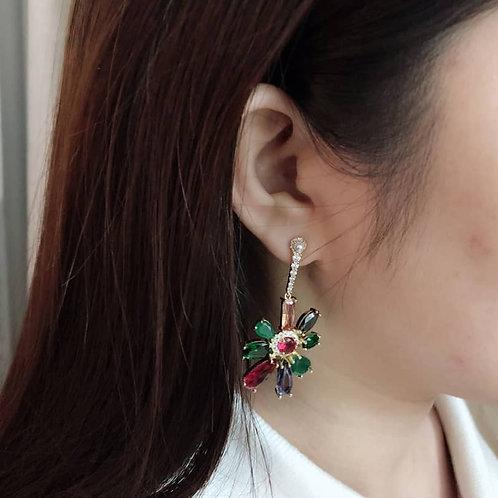 Duo Du CZ Earring