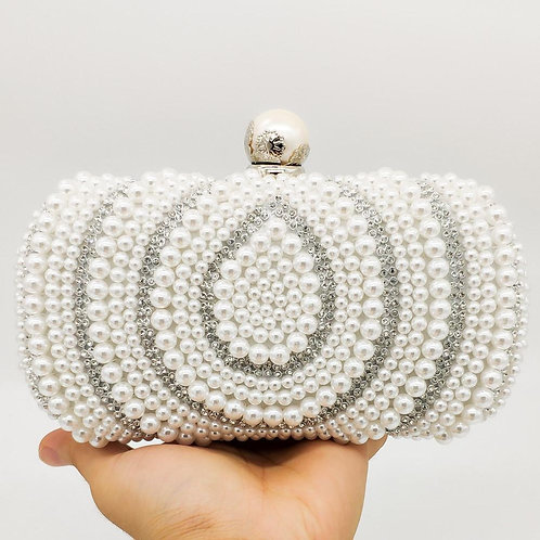 Vintage Pearl Purse