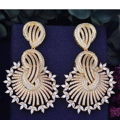 Trending loop fashion Earring