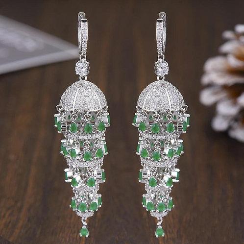 Chandelier Big Wedding Earring