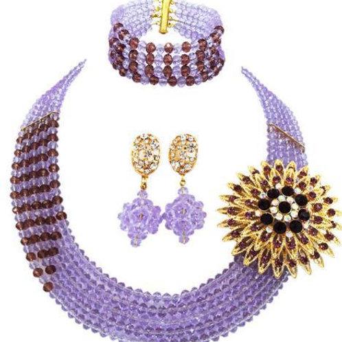 Maya Crystal beaded Necklace