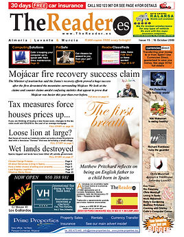 The Reader front page