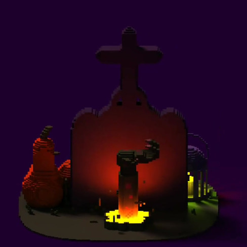 Have a spooky and very pixelated Halloween, y'all 🎃🧡