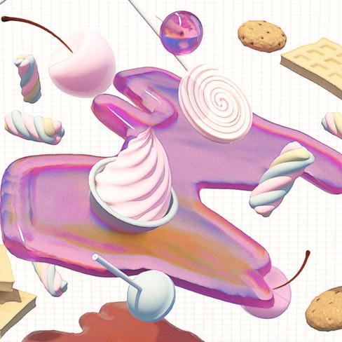 Candy Motiv ÖL