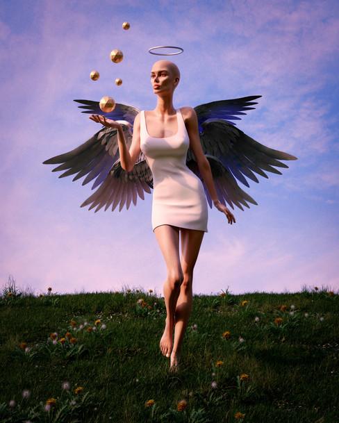 Earthly angel   #supernatural, 2021