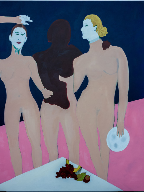The heart wants what the heart wants, 2019, oil on linen, 170 x 140 cm (private collection)