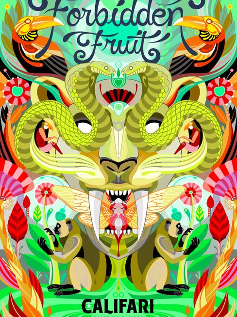 Fruto proibido – Digital illustration, 2020
