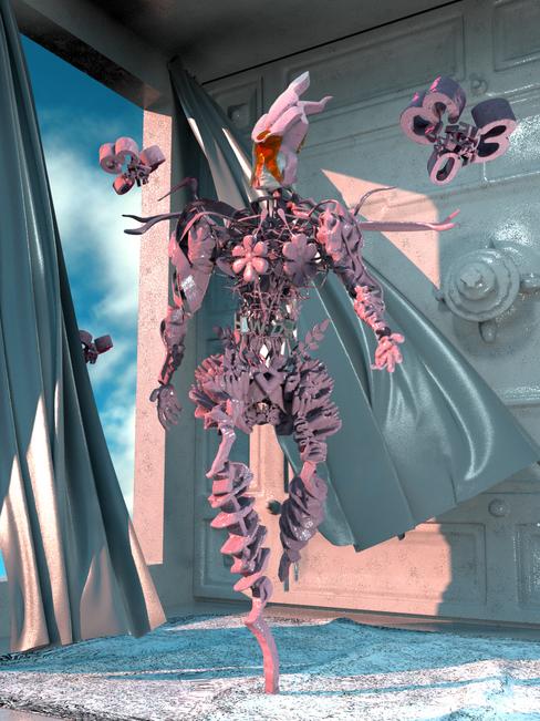 Mystical Fairy Cyborg