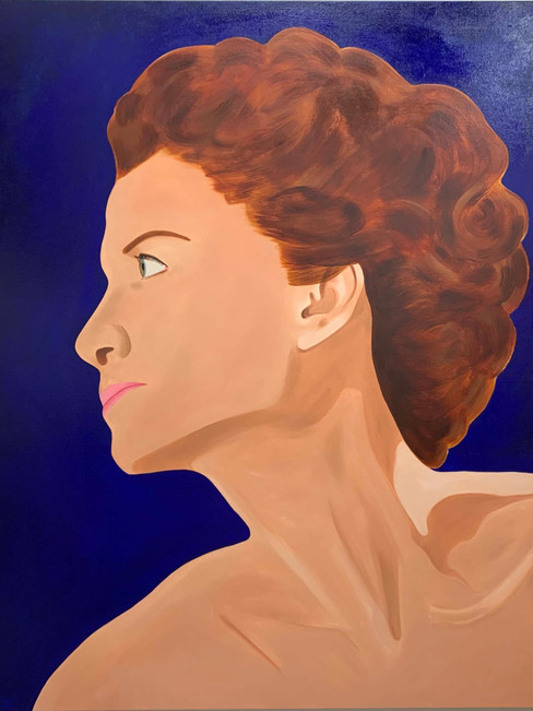 She is, 2020, oil on linen, 170 x 150 cm – Private Collection